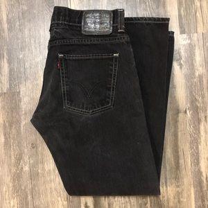Levi's 511 Skinny Jeans Black Wash 32 x 30